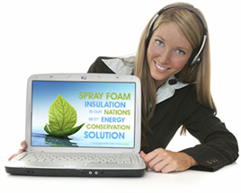 Spray Foam Insulation Websites - Custom Built Web Pages - Have it Your Way